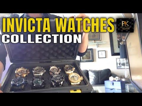 My Massive Invicta Grand Arsenal Collection