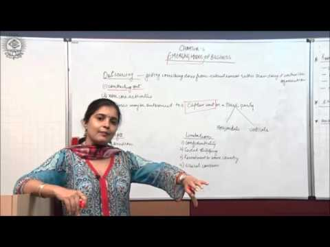 Outsourcing Cl XI Bussiness Studies by Ruby Singh