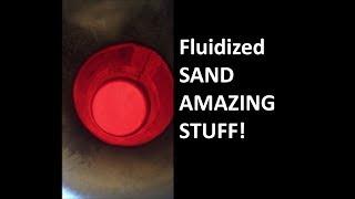 Sand Bath Fluidized Bed Knife Making Kiln for Heat Treating, NOT A SALT POT
