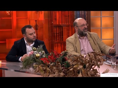 Hrvati peru svoju crnu istoriju / Jugoslavija je bila velika laz - DJS - (TV Happy 07.01.2019)