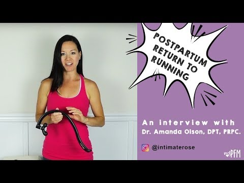 Postpartum Return To Running