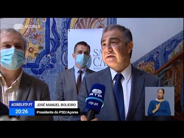 Bolieiro defende reforço do financiamento às IPSS