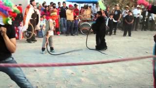 Carnaval 2014 San Pedro Xalcaltzinco (culebra 3)