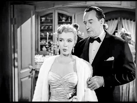 """Marilyn Monroe scenes in """"ALL ABOUT EVE"""" (1950) HD"""