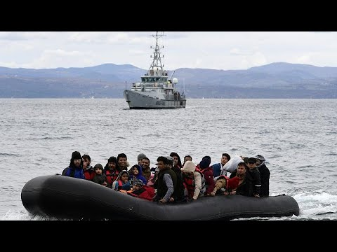 Frontex border operation in Greece 'lacks legal basis' after Greece suspends asylum law