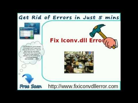 Best Guide to Fix Iconv.dll Error