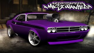 NFS Most Wanted | 1971 Dodge Challenger R/T 440 Mod Gameplay [1440p60]
