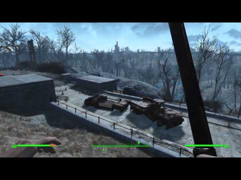Fallout 4 Gameplay(No Commentary)