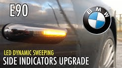BMW Smoked Out LED SIDE INDICATORS UPGRADE | E90