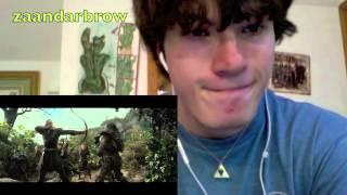 The Hobbit Desolation of Smaug - Trailer REACTION!