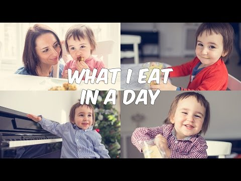 What I Eat in a Day | Baby Edition (Gluten-free)