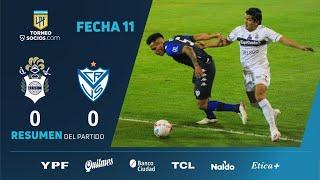 Химнасия Ла-Плата  0-0  Велес Сарсфилд видео