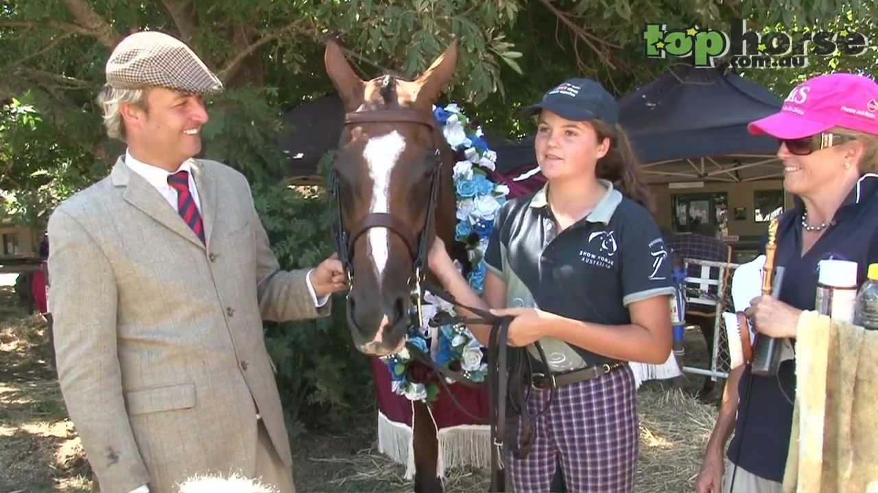 Download Top Horse TV captures the Best of Show at the 2012 Royal Melbourne Horse Show
