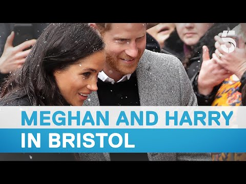 Meghan Markle and Prince Harry visit Bristol | 5 News