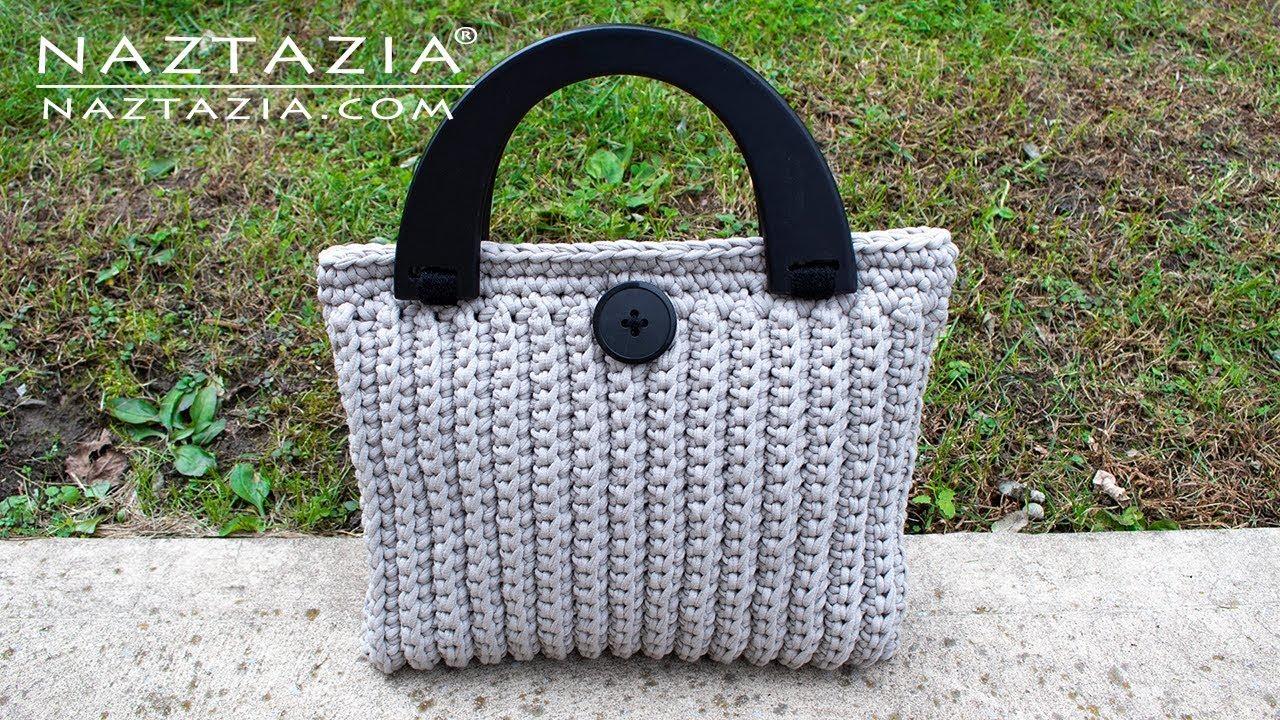 How To Crochet The Lorrie Bag Easy Elegant Purse Tote Handbag By