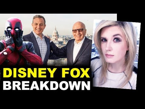 Disney Fox Deal BREAKDOWN - Marvel, Deadpool, Avatar, The Simpsons