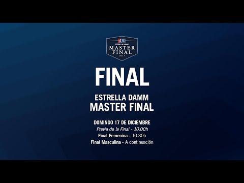Final - Domingo - Estrella DAMM Master FINAL 2017