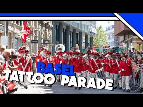BASEL TATTOO PARADE 2017