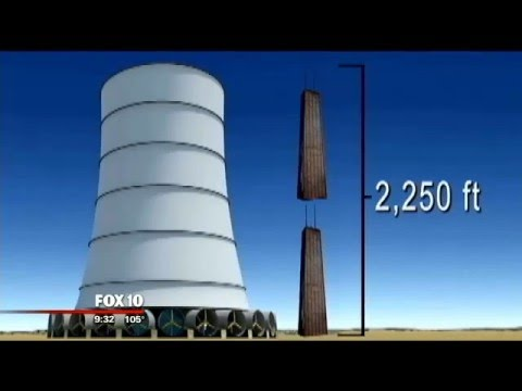 Solar Wind Energy Tower project could be boost to San Luis, Arizona
