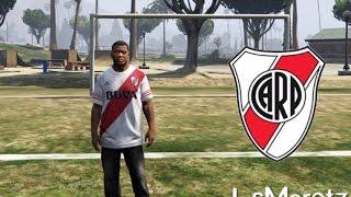 GTA 5 Mod camiseta de River Plate