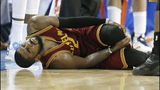 Kyrie Irving Injury Compilation