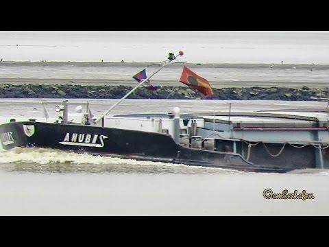 GMS ANUBIS OT3812 MMSI 205381290 inland cargo ship merchant vessel Binnenschiff Emden Germany