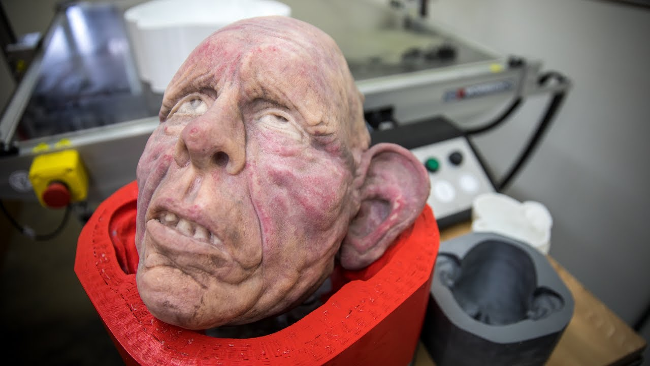 3D Printing Molds For Silicone Masks YouTube
