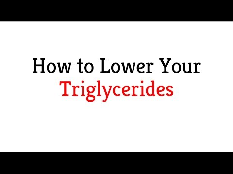 How to Lower Your Triglycerides