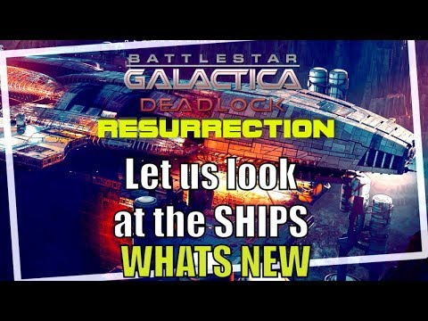Ships Of Battlestar Galactica Deadlock Resurrection New DLC Season 2