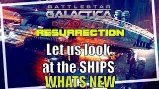 Ships of Battlestar Galactica Deadlock Resurrection New DLC Season 2