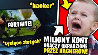MILLIONS OF FORTNITE PLAYER ACCOUNTS STOLEN BY HACKERS! 😰 HOW TO BE CHRONIC? -🔎 ANALYSIS 🔎