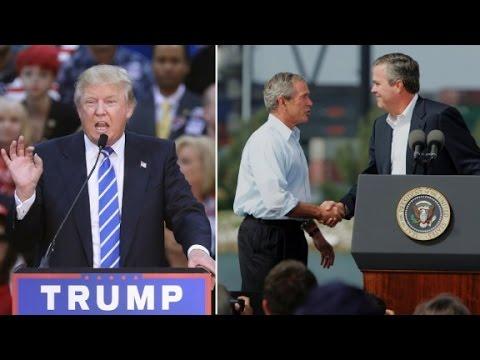 Jeb Bush and Donald Trump spar over 9/11