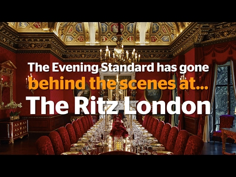 Behind the scenes at The Ritz London