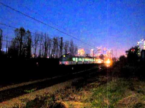 Warsaw by night EN57 & EN94 WKD