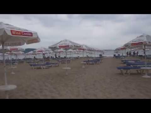 Дорога на пляж, Болгария Солнечный берег