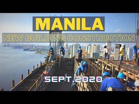 New Building Construction near Taft Avenue Manila Philippines