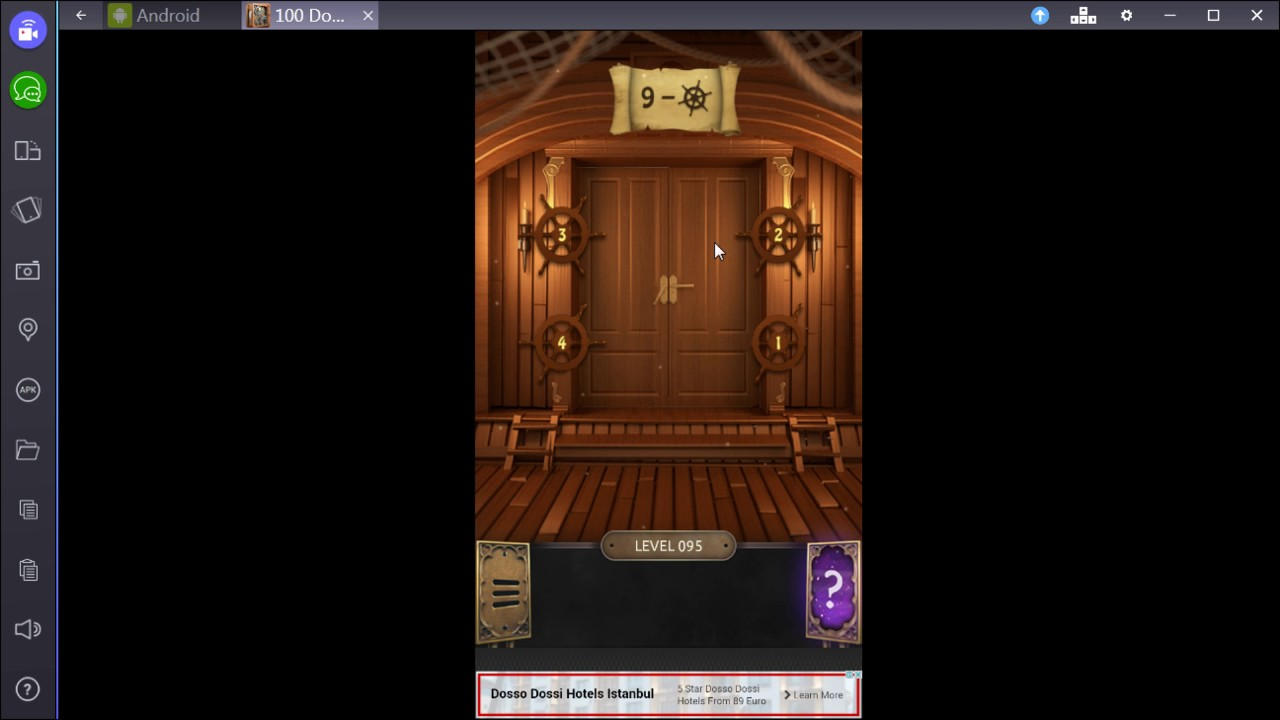 100 Doors Challenge Level 95 Youtube