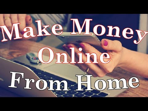 How To Make Money Online From Home - My Favorite Method