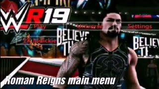 New WR3D Wwe 2k19 mod released ||Specially for roman reigns