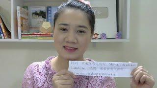 Chen laoshi giảng và phân biệt các từ 在 zai ,正 zheng ,正在 zhengzai
