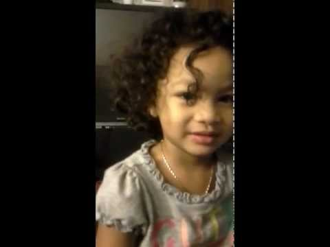 Zamara Larae At 2yrs Old Says, She's Voting For President Obama In 2012 Election, 2nd Term!!!