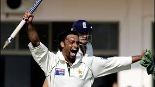 Pakistan defend 197 VS England THRILLING FINISH 1st Test Multan 2005