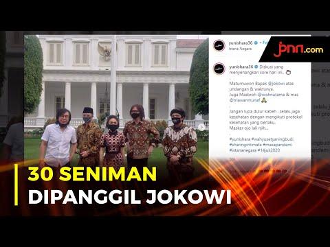 Raisa, Yuni Shara Hingga Ari Lasso Dipanggil Jokowi ke Istana