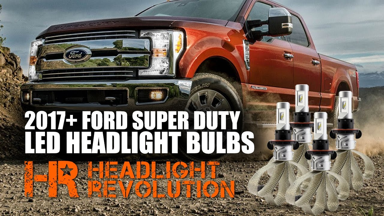 Led Headlight Bulbs For 2017 Ford F250 F350 Super Duty Halogen H4 Wiring Diagram Headlights To H1s Mgroverorg Forums Revolution