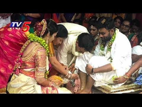 Paritala Sriram Marriage LIVE | Venkatapuram | TV5 News