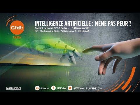 Comité national - L'intelligence artificielle : même pas peur ?  - Jeudi 15 Novembre 2018
