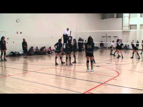 Offshore Volleyball Club 13-1 Girls vs Mid-City VBC 13's Match1