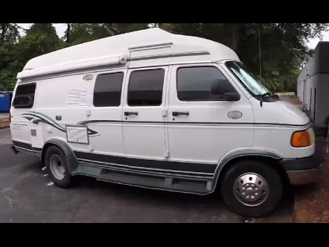 Tour of the Van I Live In Full-Time - Class B 1999 Dodge ...