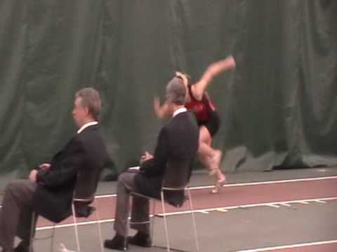 2010 NCAA Indoor Championships Jenny Aronson LJ 5.48m 7th place