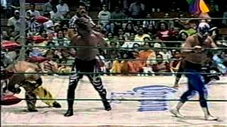 Atlantis, Mr. Niebla & El Satanico vs. Zumbido, Dr. Wagner Jr. & El Terrible